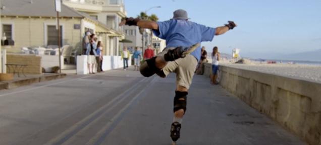 Flying Down The Boardwalk